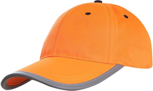 A-SAFETY Hi-Vis Cap, Reflective Adjustable Baseball Hat for Adult Children